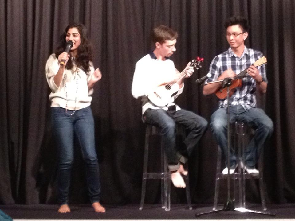 You might play a ukulele for the talent show.