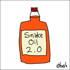 Click here now to buy snake oil which will solve all your problems, like it did mine...