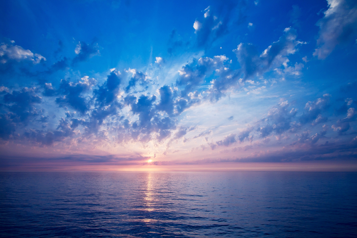 sea-the-horizon-the-sun-light-color-sky-clouds-wallpaper